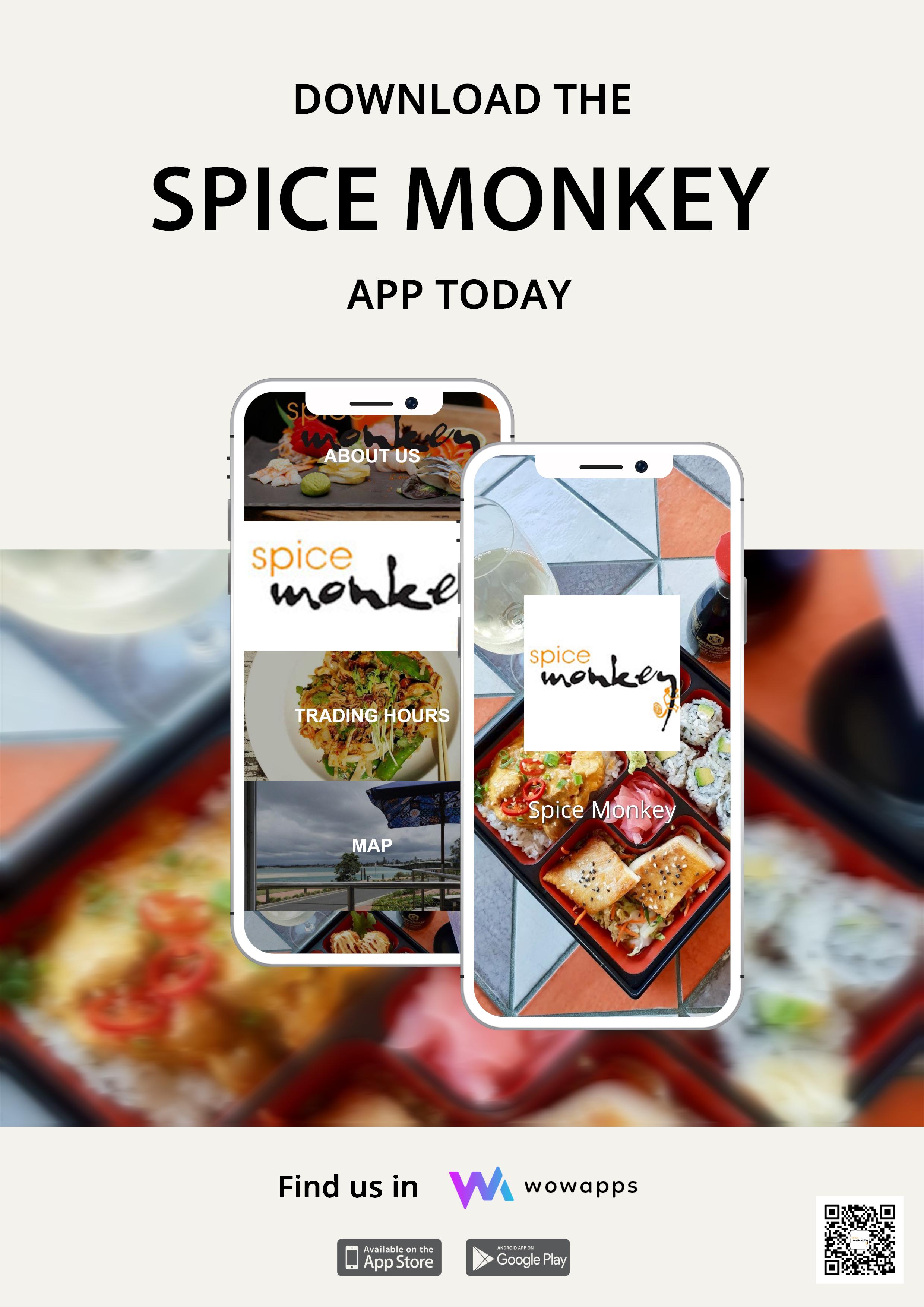 Spice Monkey App