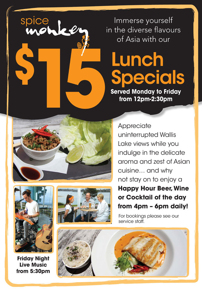 $15 Lunch Specials